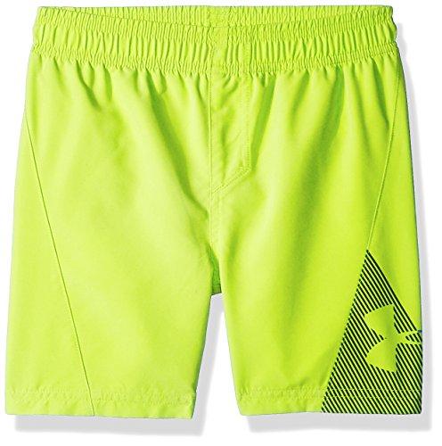 Under Armour Slash Volley Big Boys' Swim Shorts, Hi Gh/Vis Yellow, X-Large