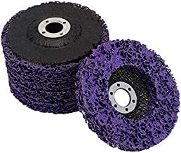"""5pcs Abrasive Wheel Grinder Strip Disc - 4"""" Poly Rust Paint Removal Disc Clean Tool for Angle Grinder"""