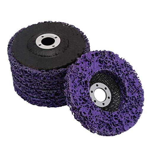 5 Stück Schleifscheiben für Winkelschleifer | Reinigungsscheibe zum Entfernen von Lack und Rost