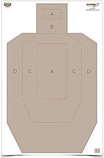 Birchwood Casey Eze-Scorer IPSC Practice Target (Per 100), 23 x 35-Inch