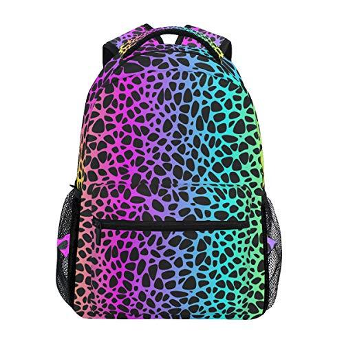 vans mochila leopardo mujer
