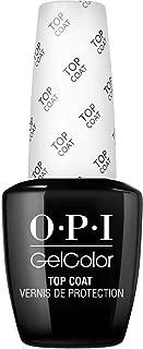 OPI GelColor, Gelcolor Top Coat, 0.5 Fl. Oz. gel nail polish top coat