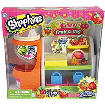 Shopkins Fruit & Vegetable Playset   Shopkin.Toys - Image 1