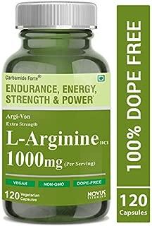 Carbamide Forte L-Arginine HCL 1000mg (Per Serving)- 120 Veg Capsules