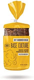 Base Culture Paleo Bread, Large Size | Delicious 100% Paleo, Gluten, Grain, Dairy, and Soy Free- Perfect for Sandwiches (5...