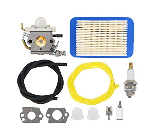 MOTOKU Carburetor Air Filter Fuel Line Spark Plug Carb for Echo PB-403H PB-403T PB-413H PB-413T PB-460LN PB-461LN Backpack Leaf Blower PB-610 PB-620 PB-620H PB-620ST PB413 PB-400