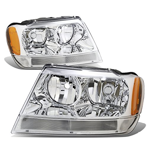 04 jeep grand cherokee headlights - 6