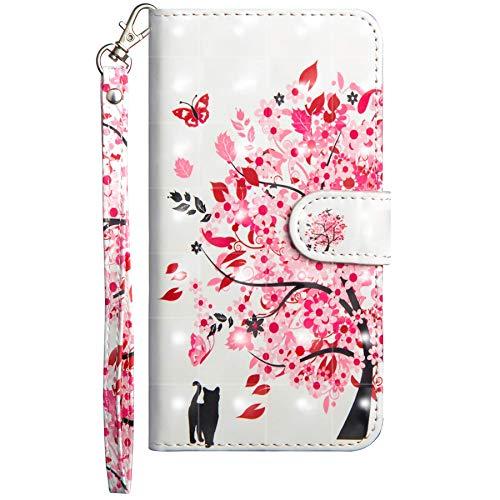 Dclbo Cover per Nokia 4.2 2019, Custodia Cover Flip Case Pelle Portafoglio Magnetica Libro Porta Carte Elegante Colorate Antiurto Protettiva Custodia per Nokia 4.2 2019-7 Disegni