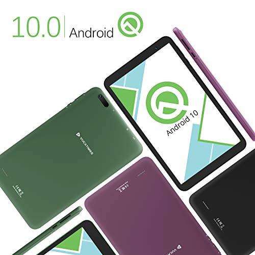 【2020最新Android10.0Goモデル】VUCATIMESタブレット8インチ-WiFiモデル32GB/Bluetooth/子供にも適当携帯便利日本語説明書/N8(黒)