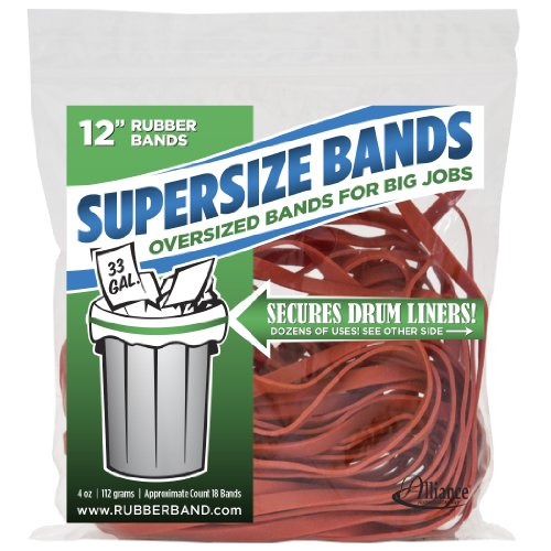 Alliance Rubber 08994 SuperSize Bands, 12