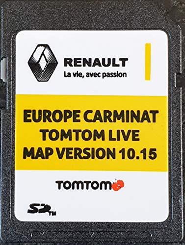 Tarjeta SD GPS Europe 2019-10.15 - Renault Tomtom Live