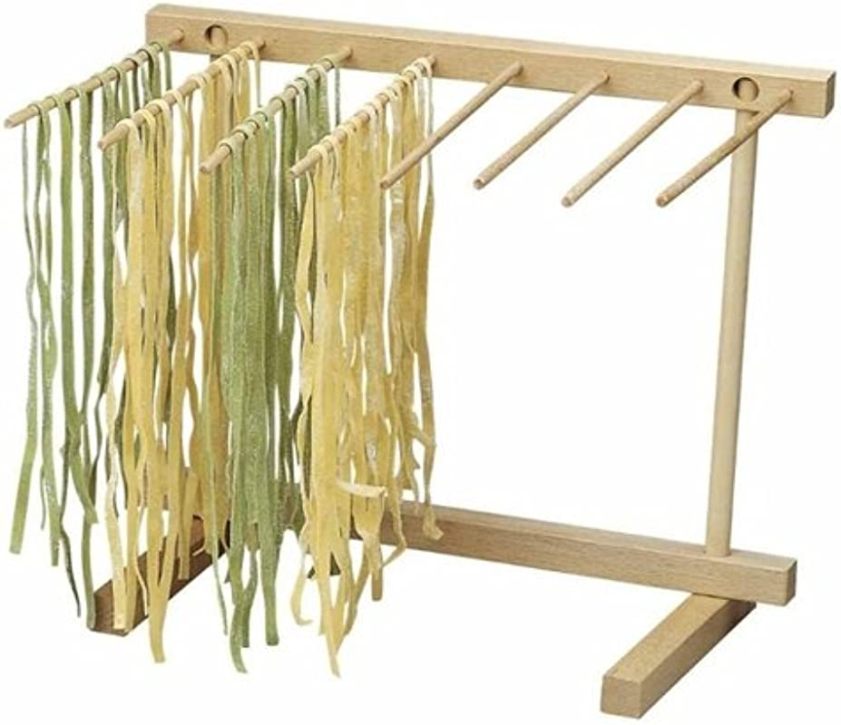 Eppicotispai EP 102 Natural Beechwood Collapsable Pasta Drying Rack