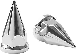 Capa Porca Diamante Plástica Cromada 33mm 20 Unidades