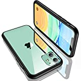 "Humixx iPhone 11 ケース 米軍MIL規格取得 角保護強化 耐衝撃 背面クリア 黄ばみ防止 6.1"" Fantasy Series"