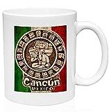 N\A Taza de Café de Cerámica Cancún México 1 11oz