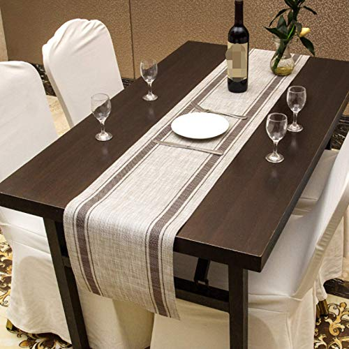 Generico Fashionable Pvc Table Runner, Dinner Table Decoration, Tea Table Towel, Non-slip Heat Insulation, Easy To Clean 30x180cm