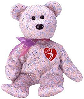 TY Beanie Baby - 2001 SIGNATURE BEAR (8.5 inch) MWMT's - Stuffed Animal Toy PRS