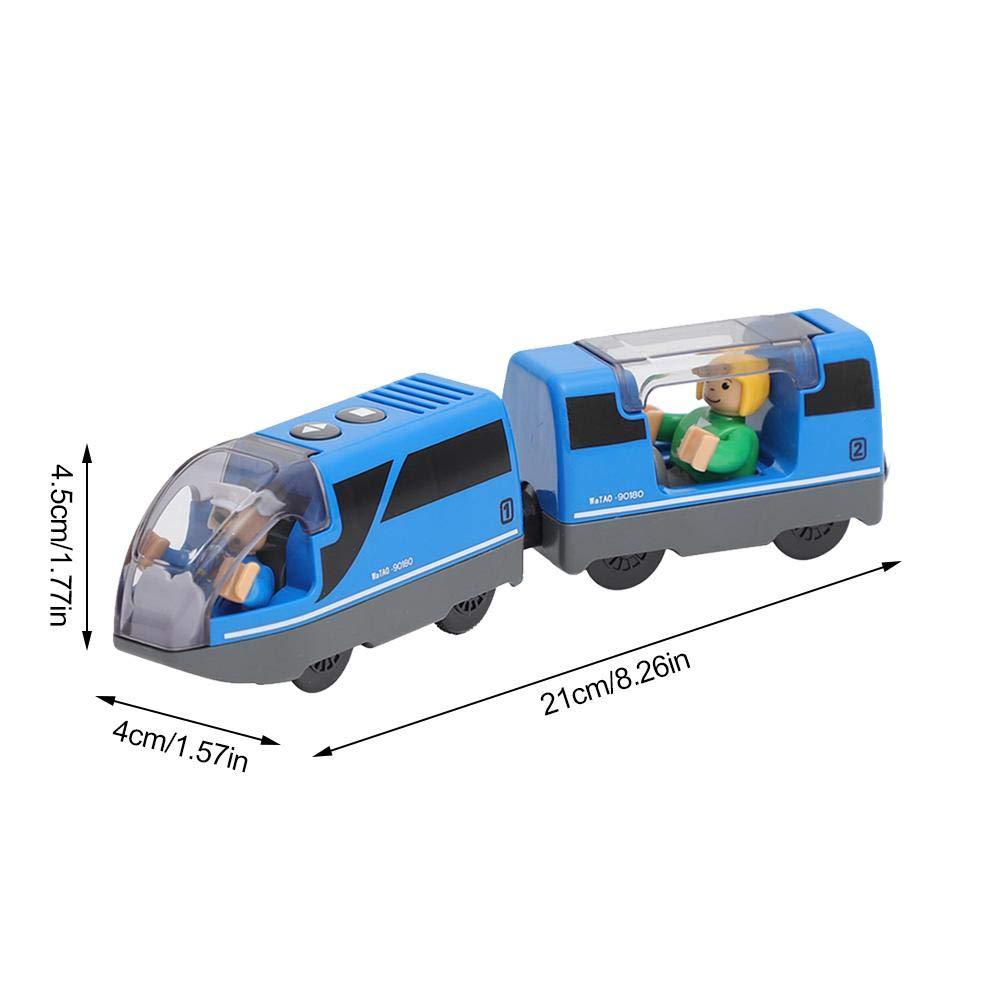 Mini Lokomotive Spielzeug Set inkl 1x Lokomotive 2x Autoabteil für