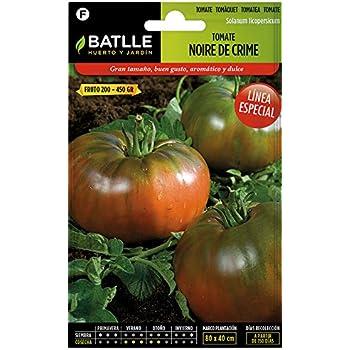 Semillas Hortícolas - Tomate Noire de Crime - Batlle: Amazon.es ...