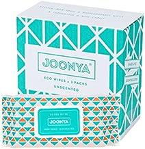 Joonya, Nontoxic Baby Wipes, 3 Packs of 80 (240) Wipes