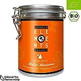 alveus Superior Organic Elements: (Mellow Mandarine BIO, Grüner Tee, Dose mit 15 Pyramidenbeutel)