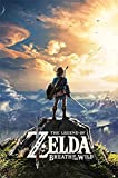 Close Up The Legend of Zelda Poster Breath of The Wild