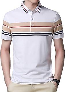 LuckyBov Men V-Neck Slim Fit Cotton Linen T-Shirt Long Sleeve Comfortable Beach Henley Tops