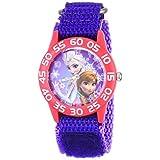 ディズニー (Disney ) アナと雪の女王 腕時計 W001789 パープル 子供用 女の子用 [並行輸入品]