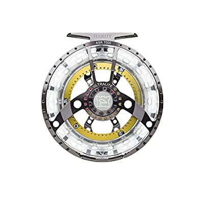 Hardy Ultralite Asr Fly Fishing Reel, Titanium/Green, 4000 (4/5) by Pure Fishing Rods &  Combos