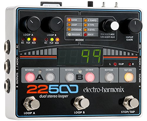loop station vergleich loopstation electroharmonix 22500 multitrack