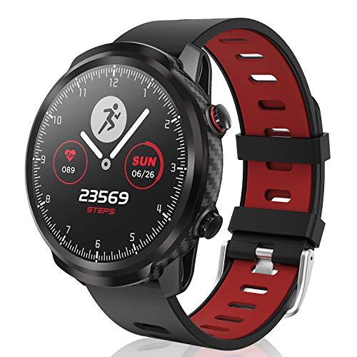 CatShin Smart Watch Tracker de Actividad, Pantalla táctil smartwatch Fitness Tracker, Reloj Deportivo Bluetooth IP67 a Prueba de Agua con Monitor de frecuencia cardíaca, Compatible con Android iOS