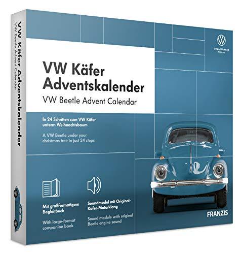 FRANZIS VW Käfer Adventskalender 2020 | In 24 Schritten zum VW Käfer unterm Weihnachtsbaum | Ab 14 Jahren