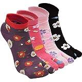 Tabi Socks - Calcetines de algodón para mujer, 2 puntos, calcetines kimono de la...