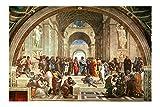 Spiffing Prints Raphael – Die Schule von Athen Giclée,