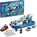 276-Pieces Lego City Police Patrol Boat Building Kit