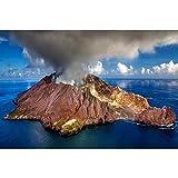 Puzzle Bois Volcan Actif en Nouvelle-Zélande Adulte Jouets Éducatifs for Enfants Décoration Cadeau 500-3000 Pièces Décoration Cadeau 0520 (Color : 1000 Pieces)