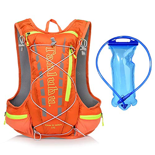LIAWEI Marathon Hydration Bag Hydration Vest Cycling Backpack, Cross-country Water Bag Backpack, Ultra-light and Breathable Backpack Suitable for Cycling, Hiking, Jogging
