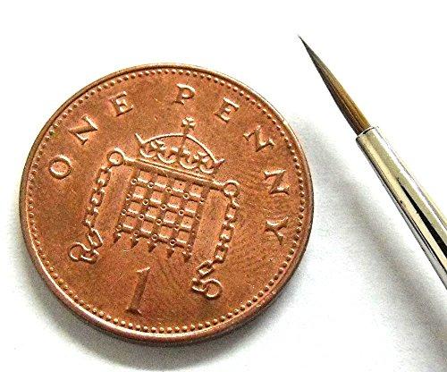 Springer Pinsel Springer pinsel3338–0Dreikant Aquarells Pinsel mit Kolinsky Haar (Größe 0)