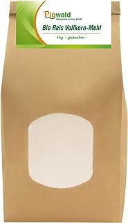 BIO Reis Vollkorn Mehl - 1 kg glutenfrei