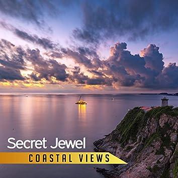 Secret Jewel: Coastal Views – Music and Sounds of Ocean, Healing Deep Waves, Quiet Bedtime, Natural Meditation