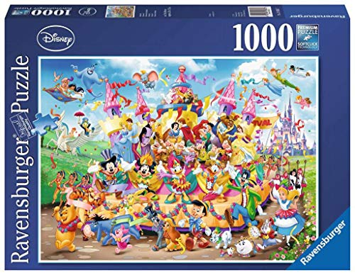 Ravensburger Puzzle, Puzzles 1000 Piezas, Disney Carnaval, Puzzle Disney, Puzzles para Adultos, Puzzle Ravensburger