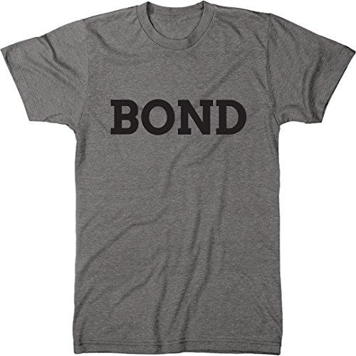 Bond Men's Modern Fit Tri-Blend T-Shirt (Premium Heather, Large)