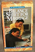 Balance Sheet for Marriage -- Dr. Bruce Wilkinson VHS Video (A Biblical Portrait of Marriage, Volume 8: Walk Thru the Bible Ministries)