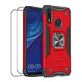 通用 Coque Compatible avec Huawei p20 Lite Case Huawei p20 Lite Housse avec Verre Trempé,Antichoc...