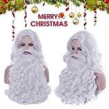 JIEHED - Set de decoración navideña para disfraz de Papá Noel