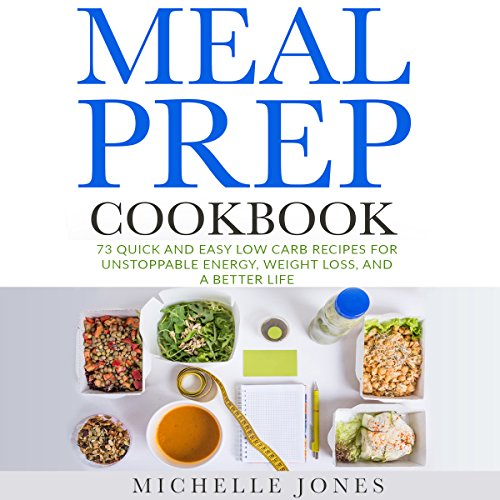 Meal Prep Cookbook audiobook cover art
