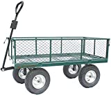 Garden Cart Extra Large Outdoor Trolley, Towable, Large Wheels, Heavy Duty, V. Tough. 450kg Tested Load. Super-Simple only 6 bolts. Over 5,900 sold- read the reviews! OT1014