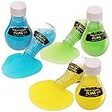 Kangaroo's Super Cool Glow in The Dark Slime, 3 Pack