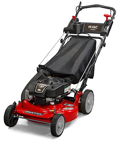 Snapper P2185020 / 7800980 HI VAC 190cc 3-N-1 Rear Wheel Drive Variable Speed Self Propelled Lawn Mower with 21-Inch Deck and Ready Start System and 7 Position Height-of-Cut
