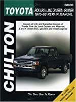 Chilton's Toyota Pick-Ups/Land Cruiser/4Runner: 1970-88 Repair Manual (Chilton's Total Car Care Repair Manual)